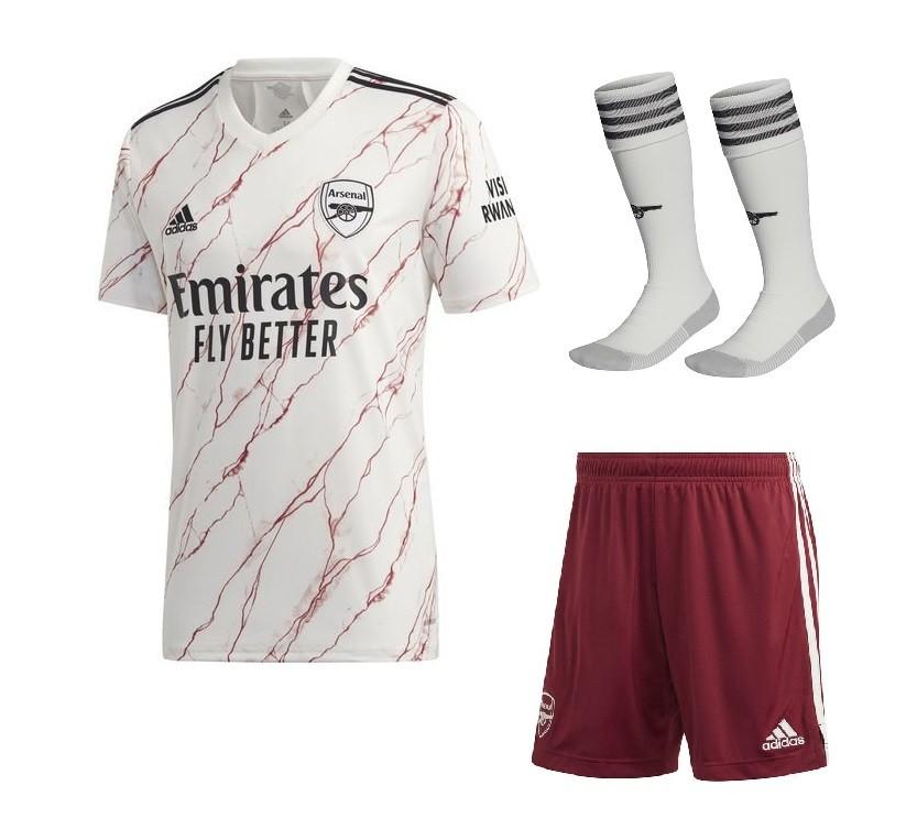 Выездной комплект Арсенала сезон 2020-2021