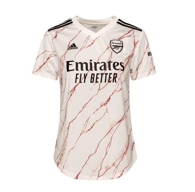Женская выездная футболка Арсенала сезон 2020-2021