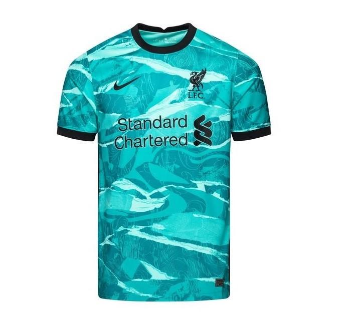 Выездная футболка Ливерпуля сезон 2020-2021