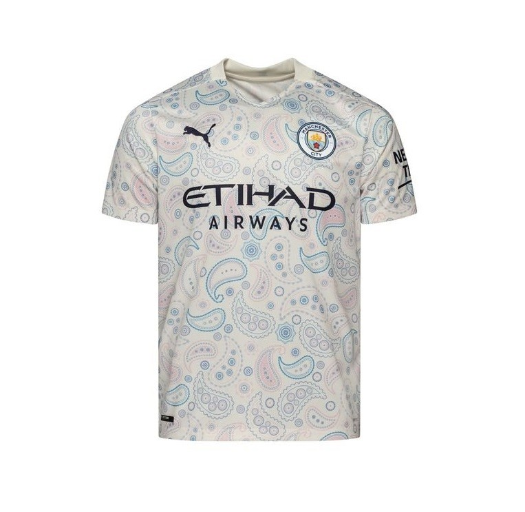 Резервная футболка Манчестер Сити сезон 2020-2021