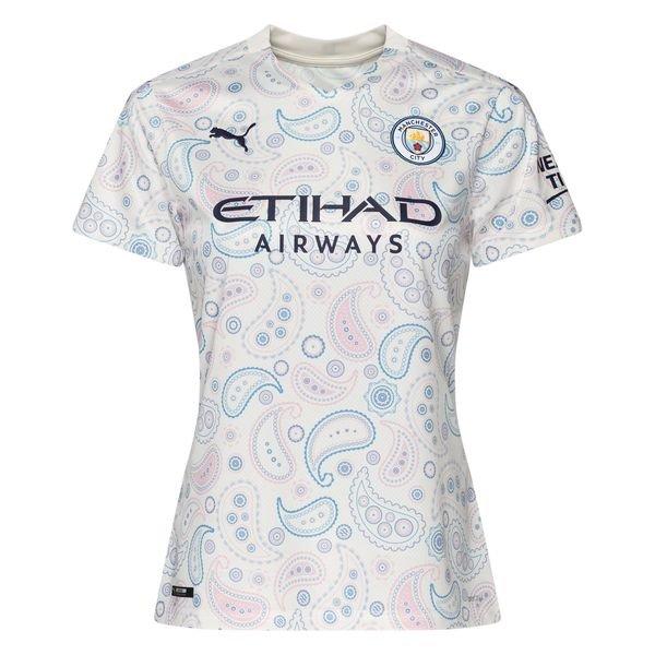 Женская выездная футболка Манчестер Сити сезон 2020-2021