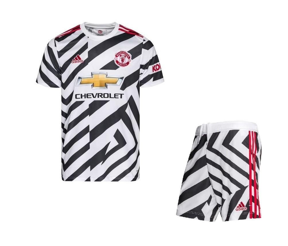 Детская резервная форма Манчестер Юнайтед сезон 2020-2021