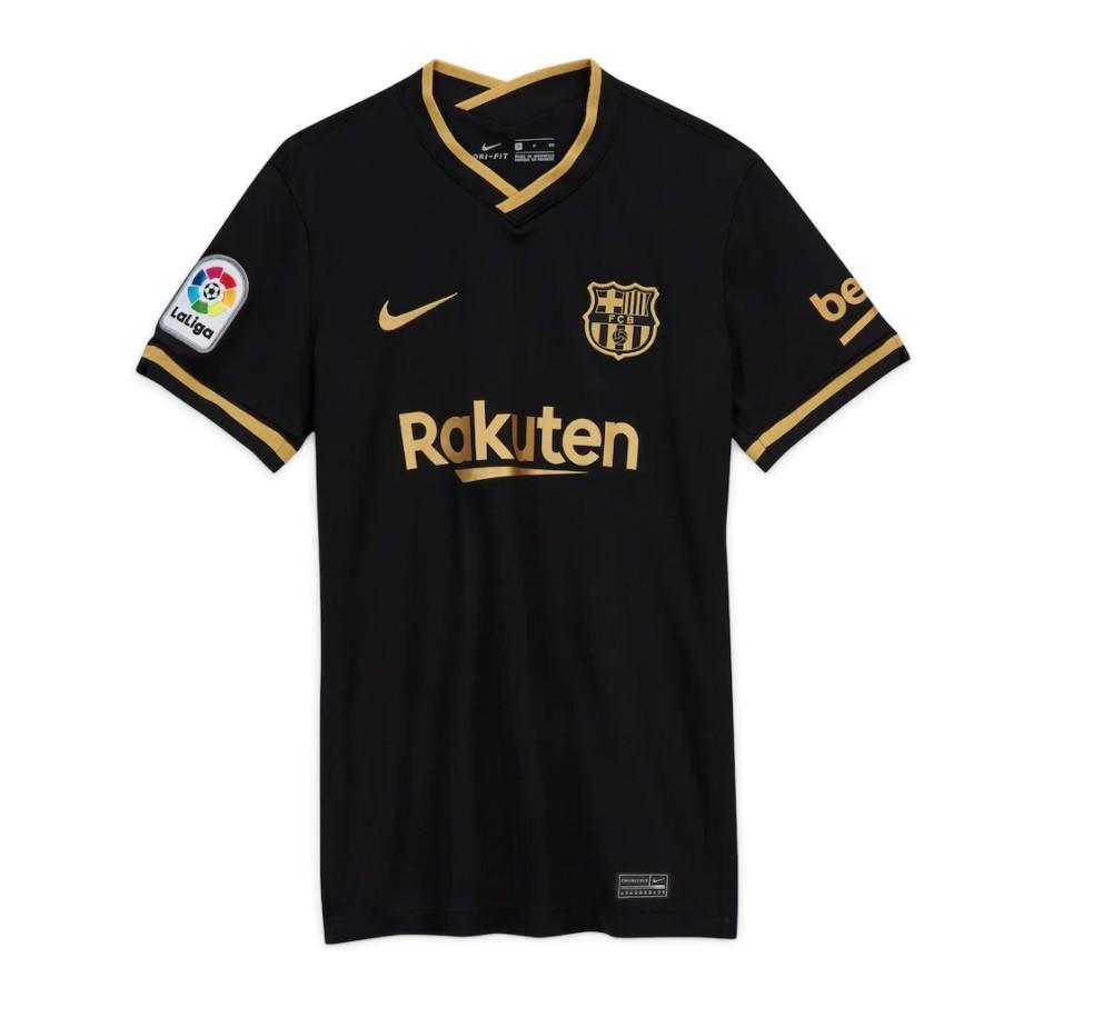 Женская выездная футболка Барселоны сезон 2020-2021