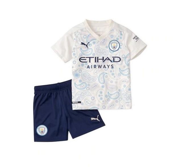 Детская резервная форма Манчестер Сити сезон 2020-2021