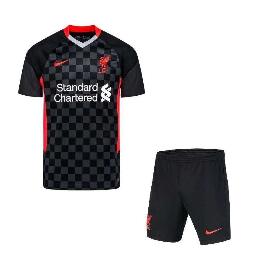 Резервная форма Ливерпуля сезон 2020-2021 черная