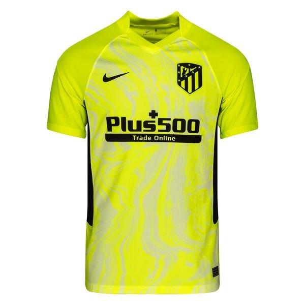 Резервная футболка Атлетико Мадрид сезон 2020-2021 желтая