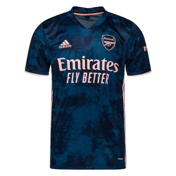 Резервная футболка Арсенала сезон 2020-2021