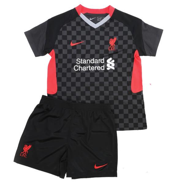 Детская резервная форма Liverpool сезон 2020-2021
