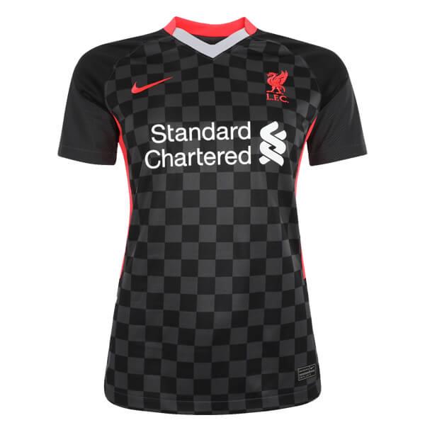 Женская резервная футболка Ливерпуля сезон 2020-2021