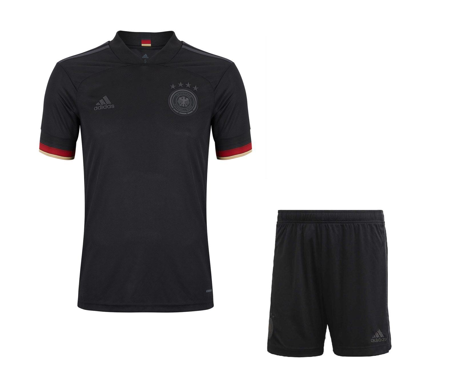 Выездная форма сборной Германии Евро 2020