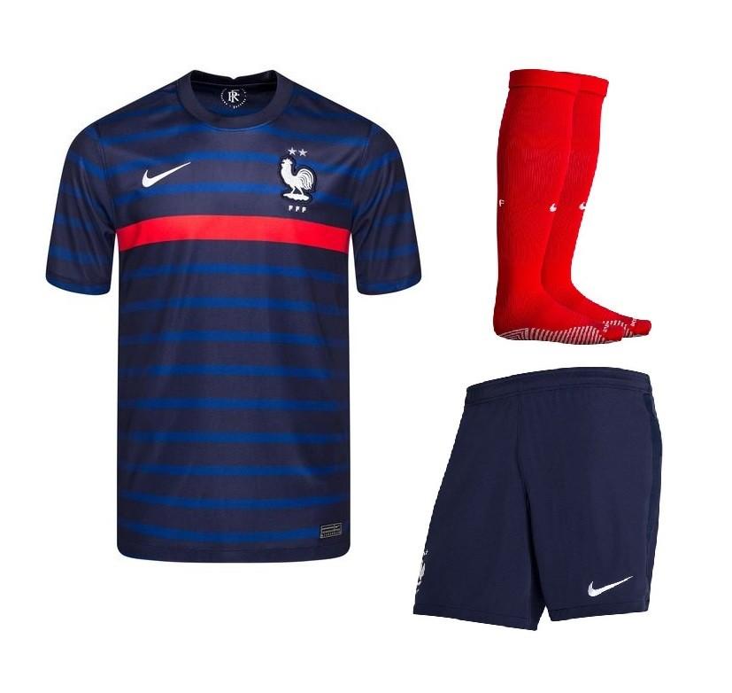 Домашний комплект сборной Франции Евро 2020