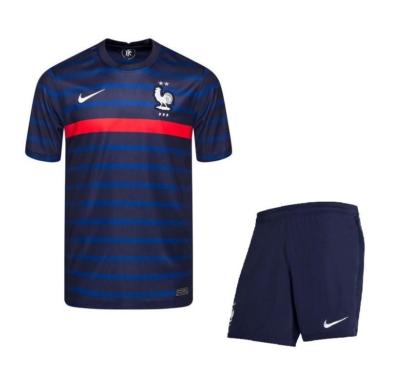 Домашняя форма сборной Франции Евро 2020