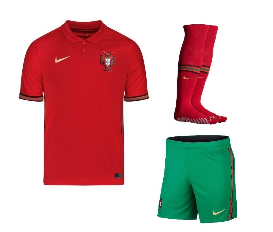 Домашний комплект сборной Португалии Евро 2020