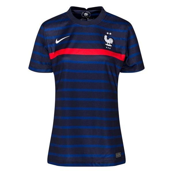 Женская домашняя футболка сборной Франции Евро 2020