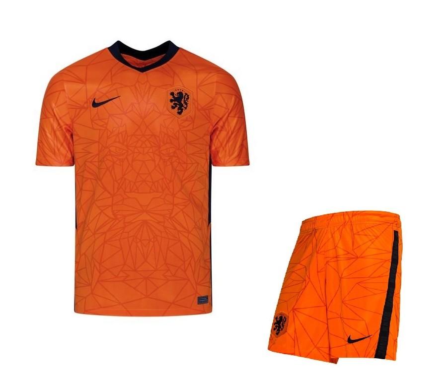 Домашняя форма сборной Нидерландов Евро 2020