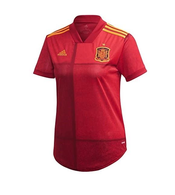 Женская домашняя футболка сборной Испании Евро 2020
