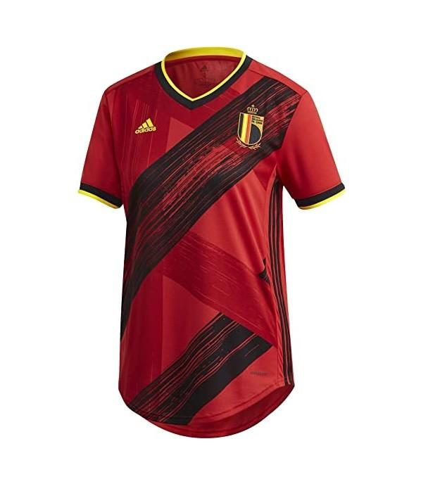 Женская домашняя футболка сборной Бельгии Евро 2020