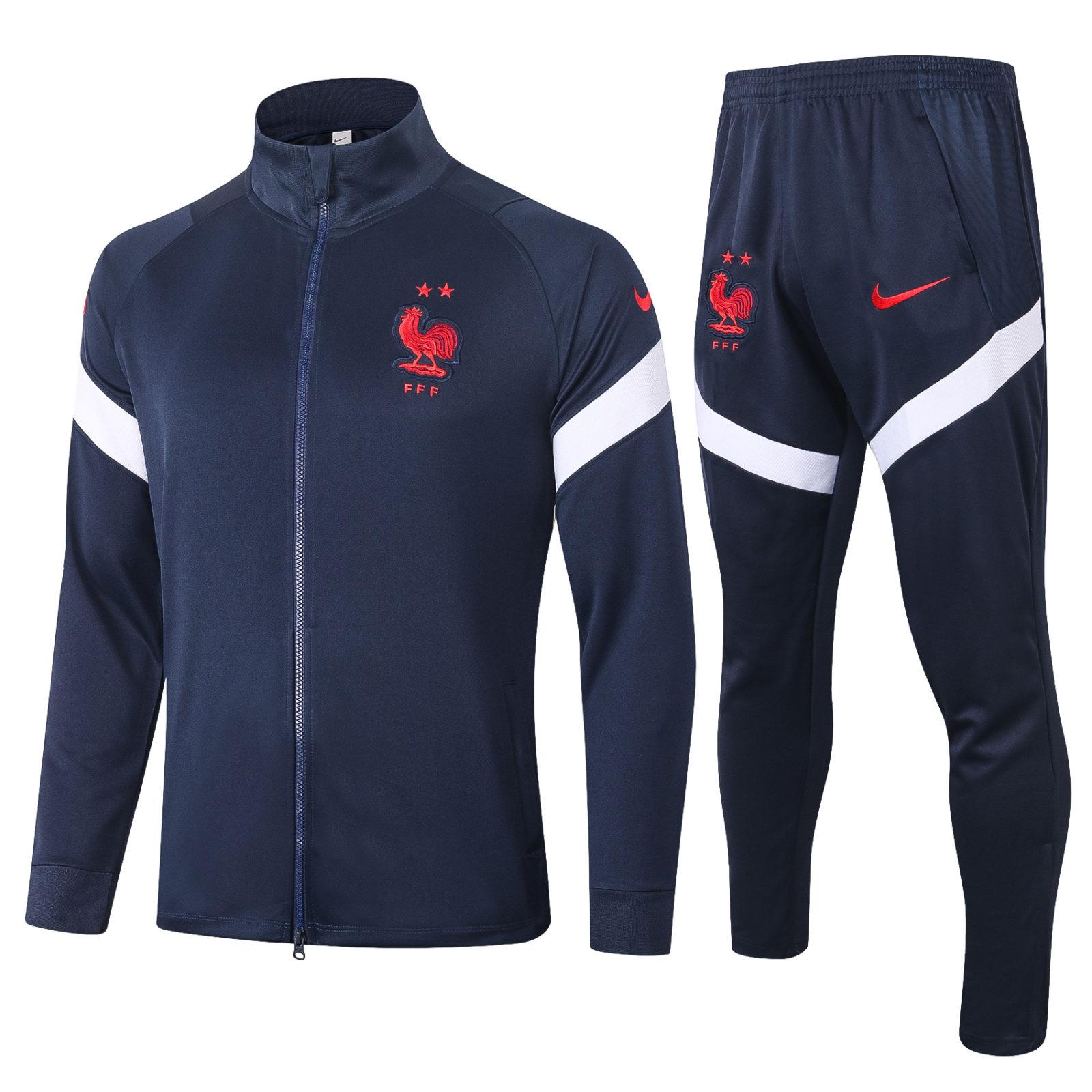 Спортивный костюм сборной Франции черный арт.27000