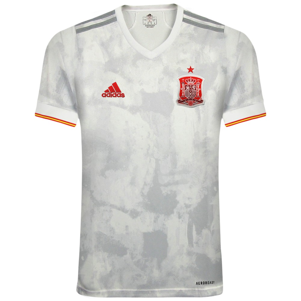 Выездная футболка сборной Испании Евро 2020
