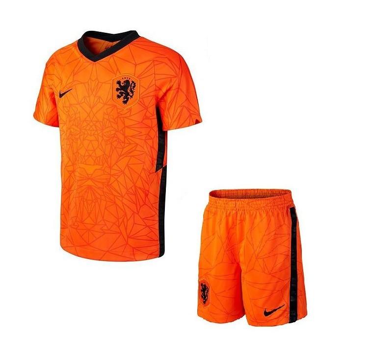 Детская домашняя форма сборной Нидерландов Евро 2020