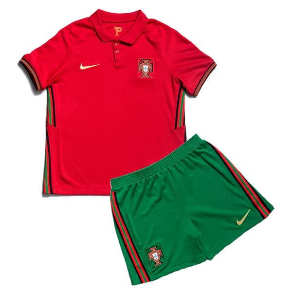 Детская домашняя форма сборной Португалии Евро 2020