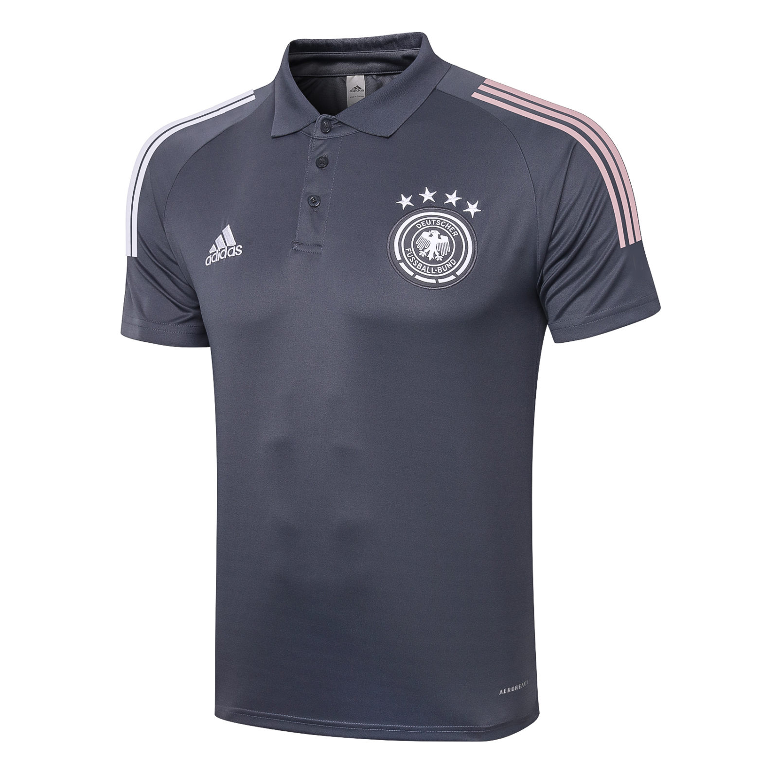 Футболка поло сборной Германии Евро 2020 (Серая)