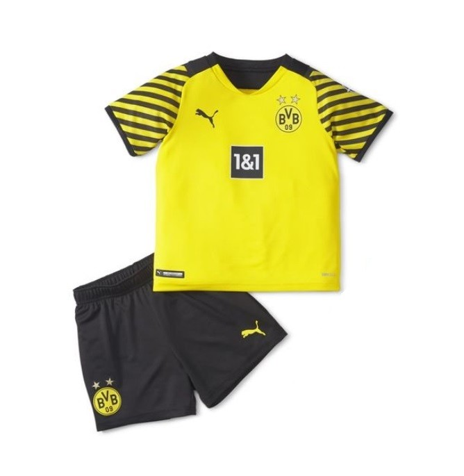 Детская домашняя форма Боруссия Дортмунд сезон 2021-2022