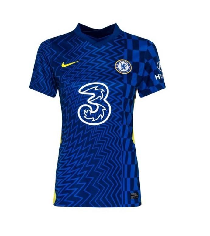 Женская домашняя футболка Челси сезон 2021-2022