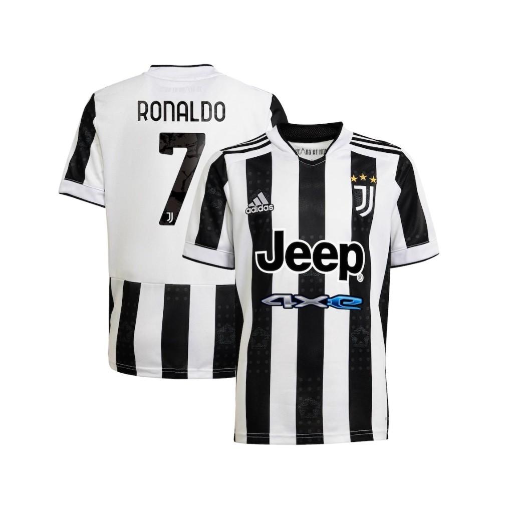 Домашняя футболка Ювентуса сезон 2021-2022 Роналду, 7