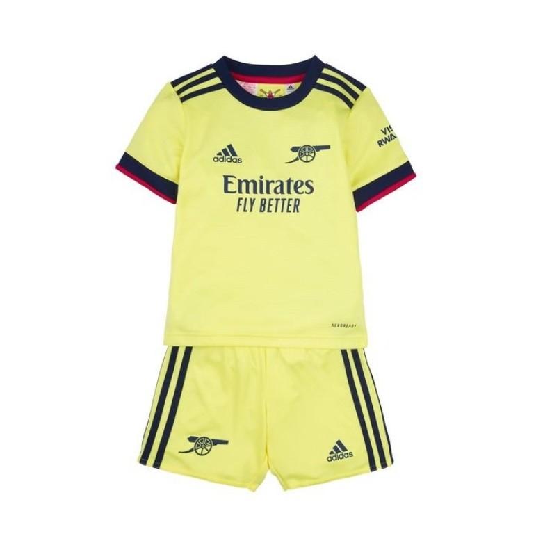 Детская выездная форма Арсенала сезон 2021-2022