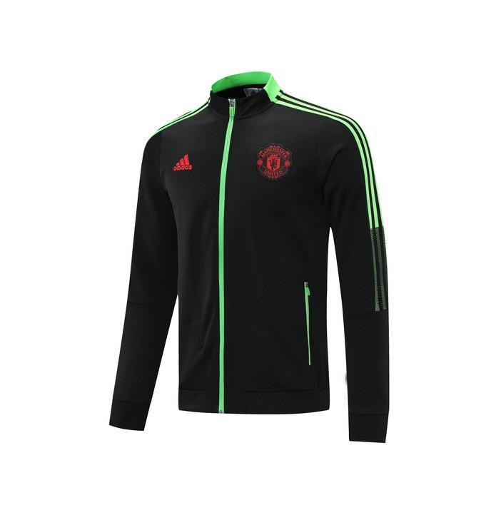 Олимпийка Манчестер Юнайтед сезон 2021-2022 (Чёрная)