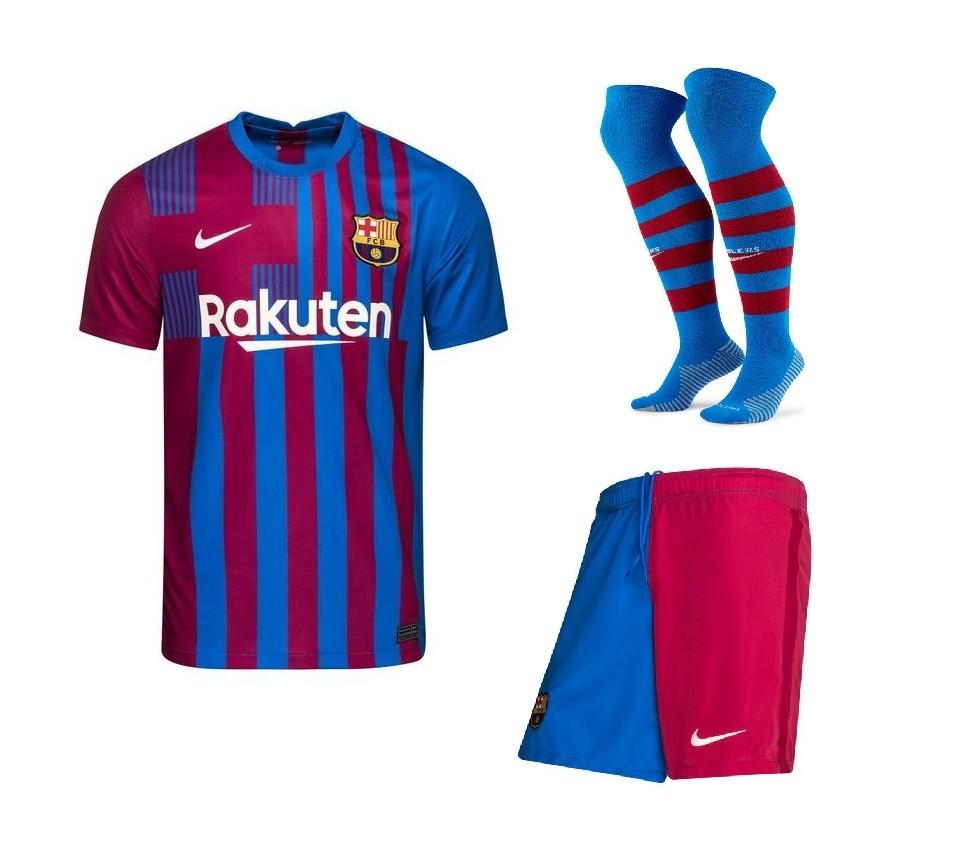 Домашний комплект Барселоны сезон 2021-2022