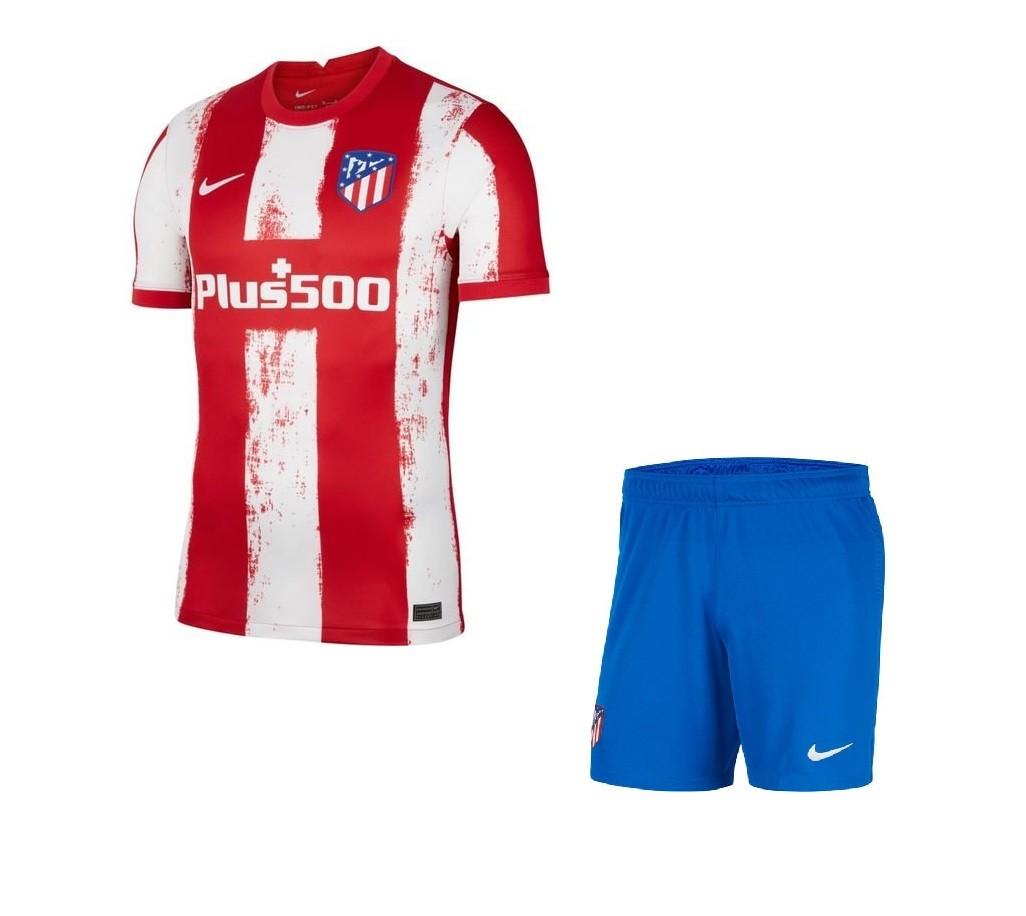 Детская домашняя форма Атлетико Мадрид сезон 2021-2022