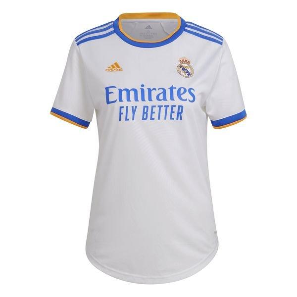 Женская домашняя футболка Реал Мадрид сезон 2021-2022