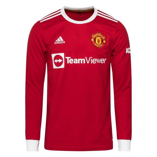 Домашняя футболка Манчестер Юнайтед с длинным рукавом сезон 2021-2022