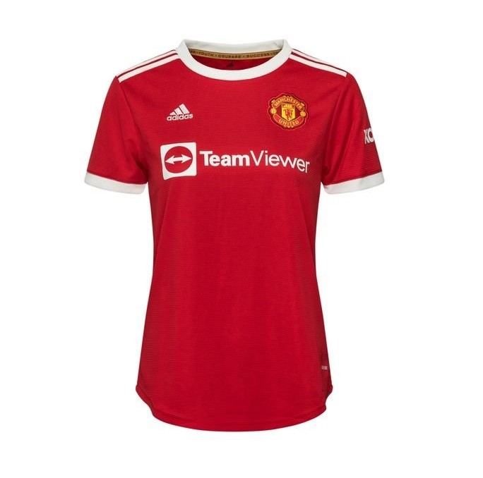 Женская домашняя футболка Манчестер Юнайтед сезон 2021-2022