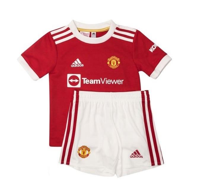 Детская домашняя форма Манчестер Юнайтед сезон 2021-2022