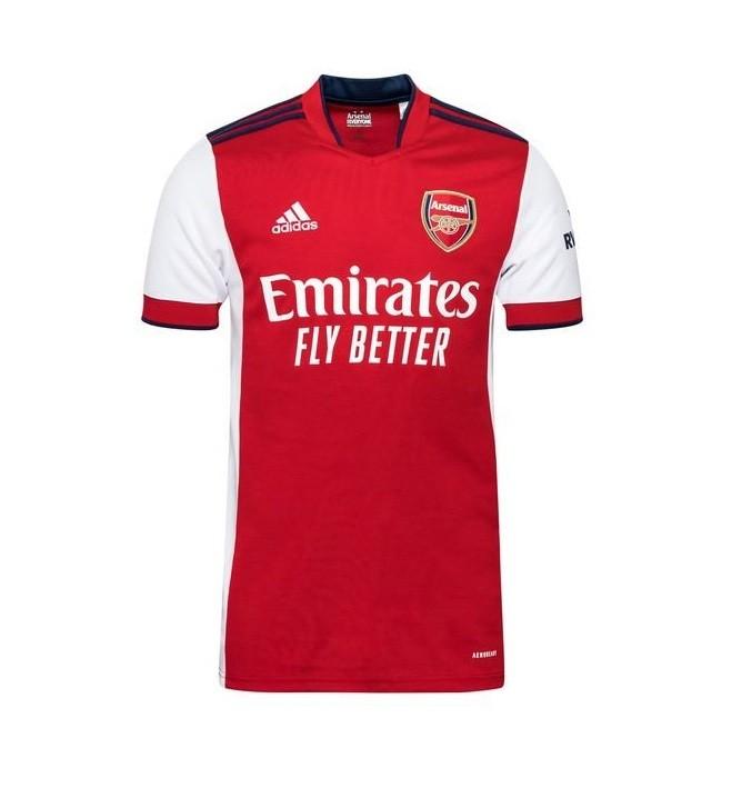Домашняя футболка Арсенала сезон 2021-2022
