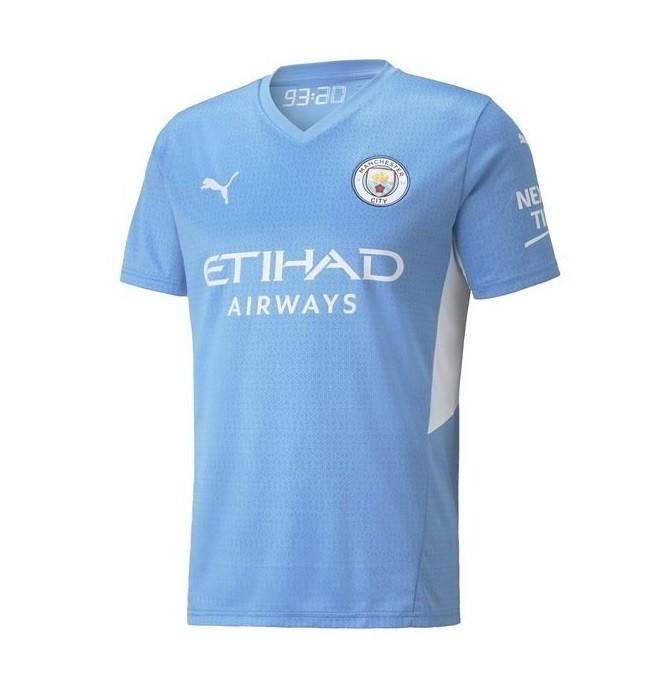 Домашняя футболка Манчестер Сити сезон 2021-2022