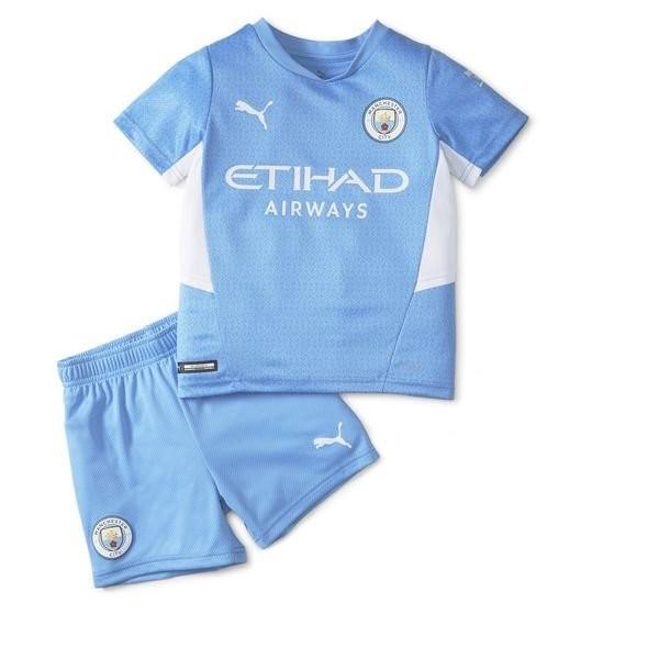 Детская домашняя форма Манчестер Сити сезон 2021-2022