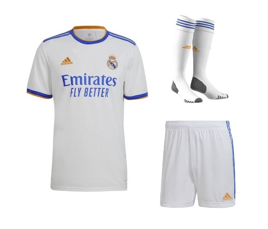 Домашний комплект Реал Мадрид сезон 2021-2022