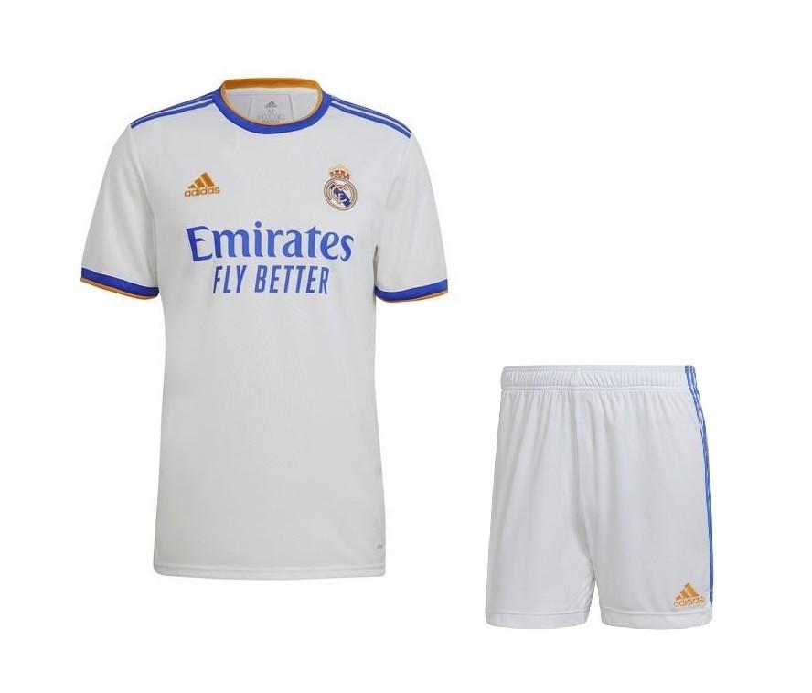 Домашняя форма Реал Мадрид сезон 2021-2022