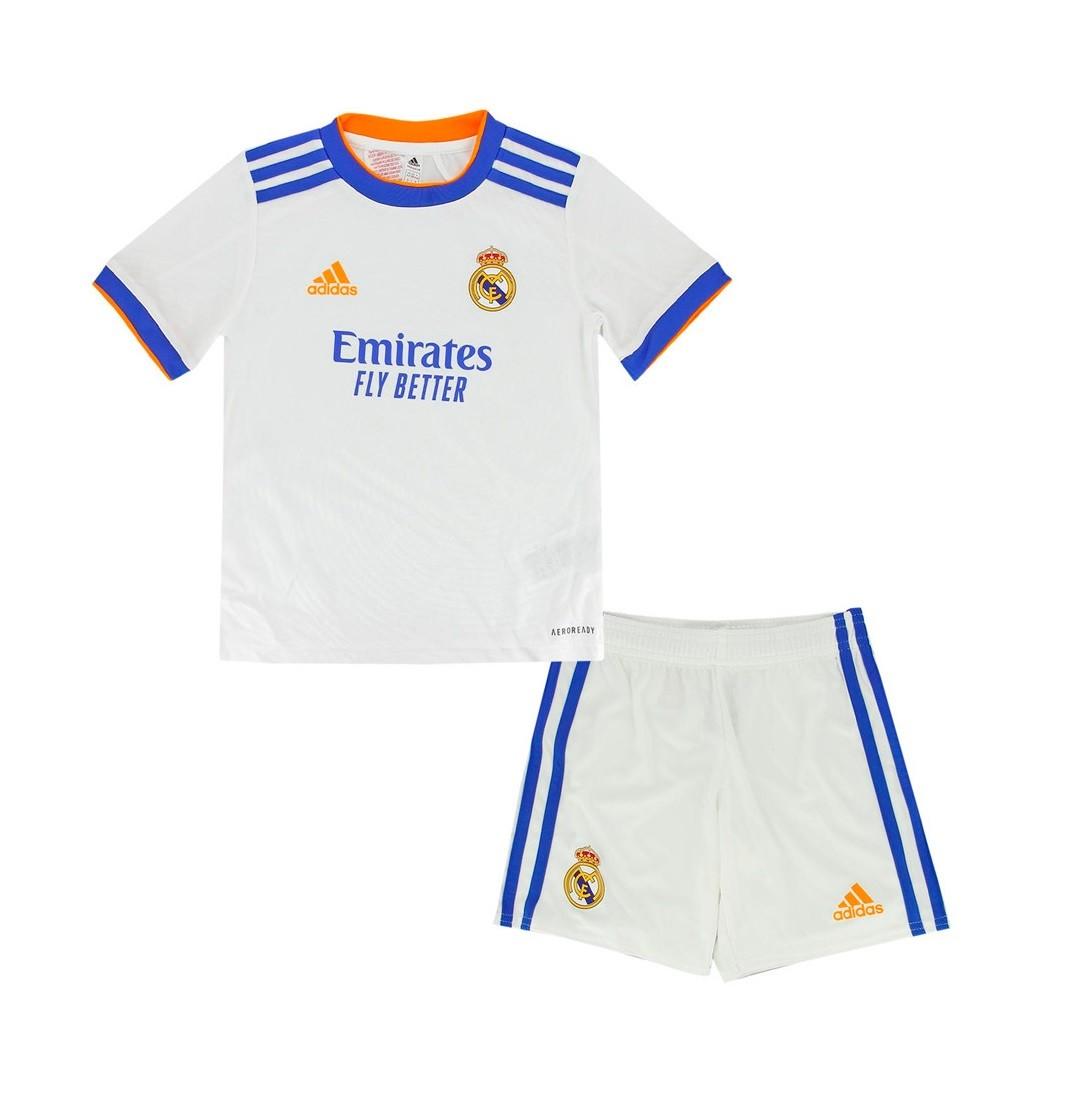Детская домашняя форма Реал Мадрид сезон 2021-2022