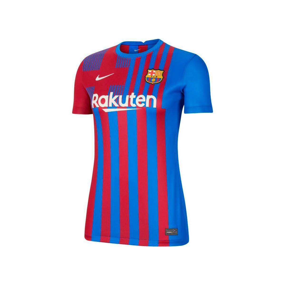 Женская домашняя футболка Барселоны сезон 2021-2022