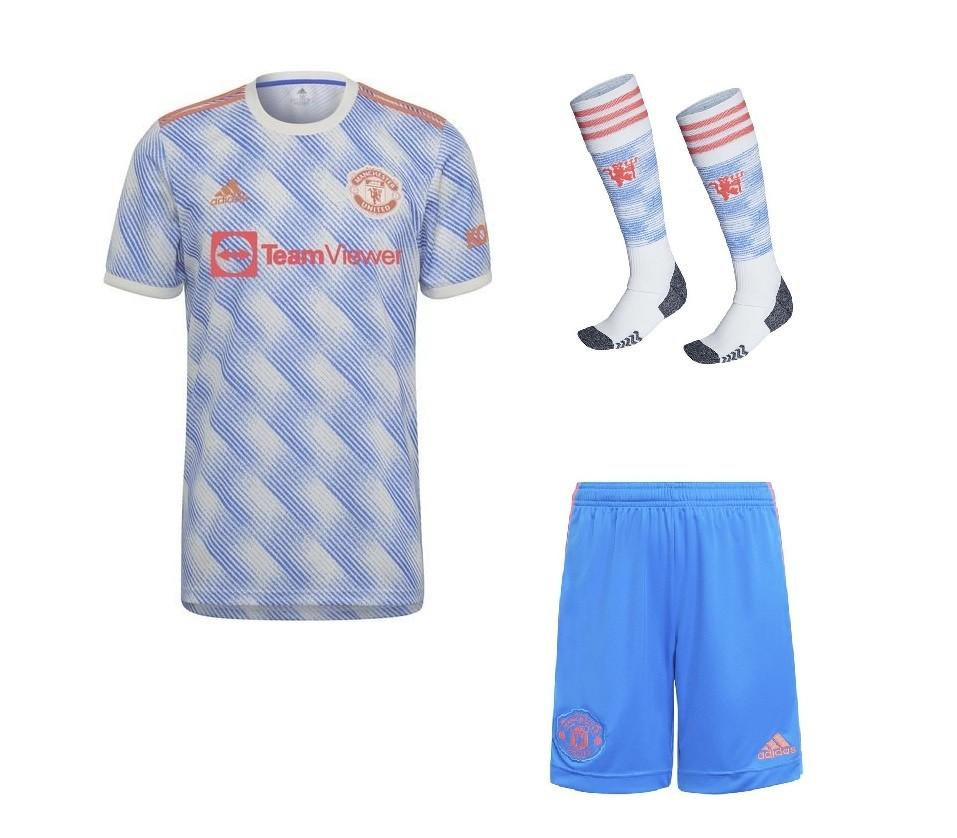Выездной комплект Манчестер Юнайтед сезон 2021-2022
