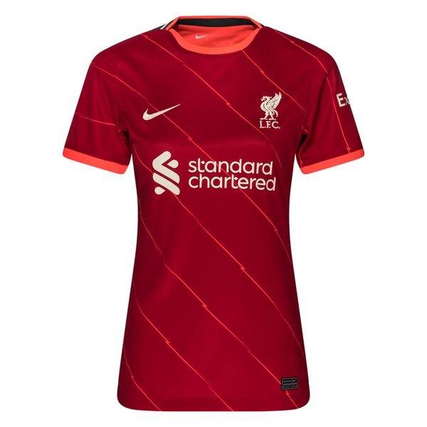 Женская домашняя футболка Ливерпуля сезон 2021-2022