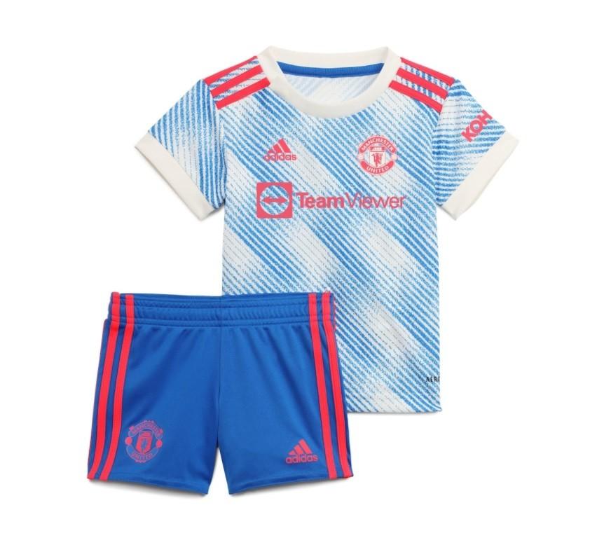 Детская выездная форма Манчестер Юнайтед сезон 2021-2022