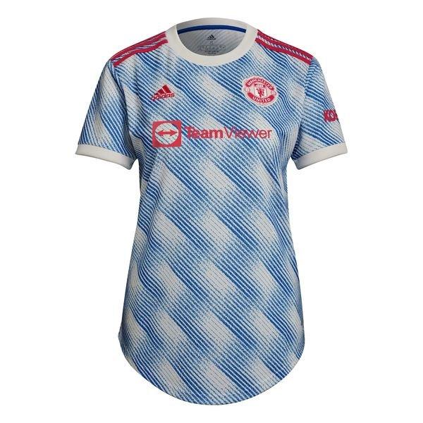 Женская выездная футболка Манчестер Юнайтед сезон 2021-2022