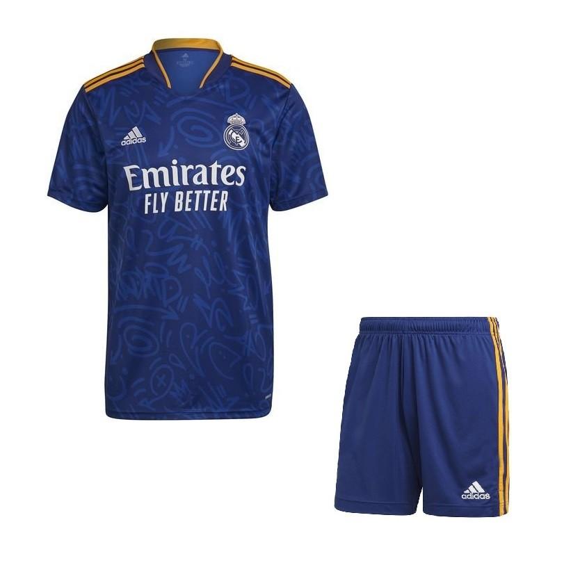 Выездная форма Реал Мадрид сезон 2021-2022