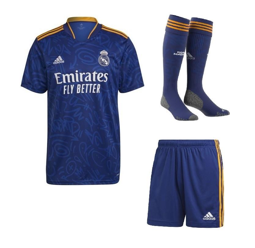 Выездной комплект Реал Мадрид сезон 2021-2022